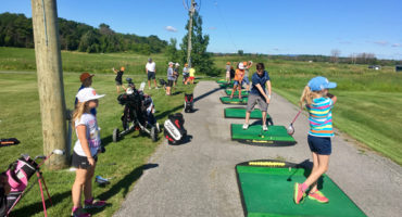 Junior Golf Camp Bilingual Instruction, Orleans, Ottawa, Canada